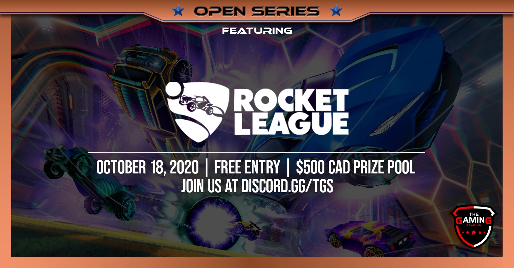 TGS Rocket League October 18th