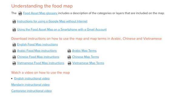 Vancouver Food Asset Map | Vancouver Neighbourhood Food Networks