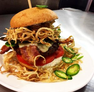 Cajun Bacon Burger