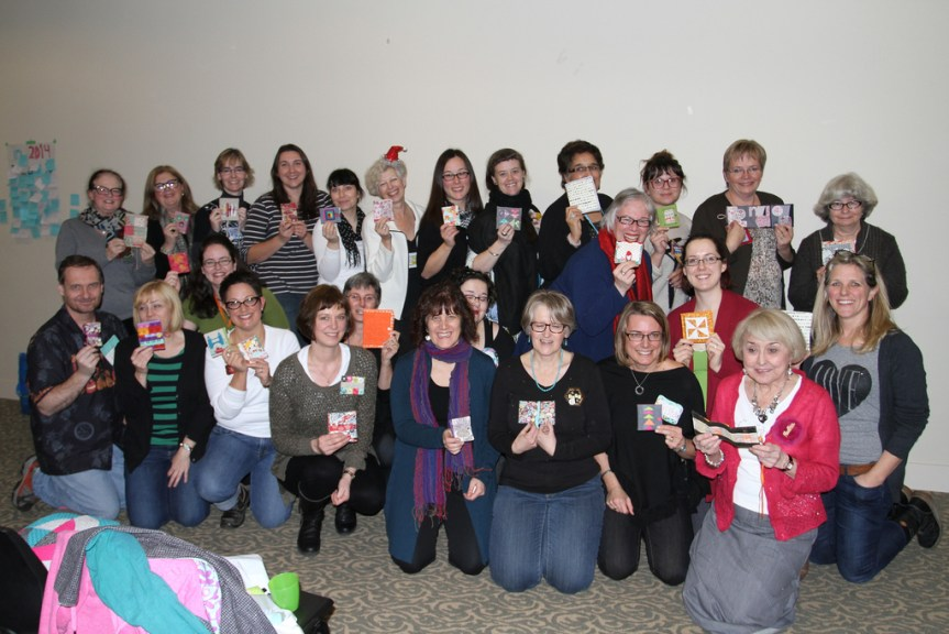 UK needlebooks group photo