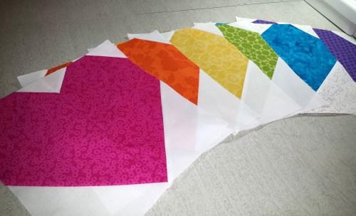 quiltsforpulse rainbow
