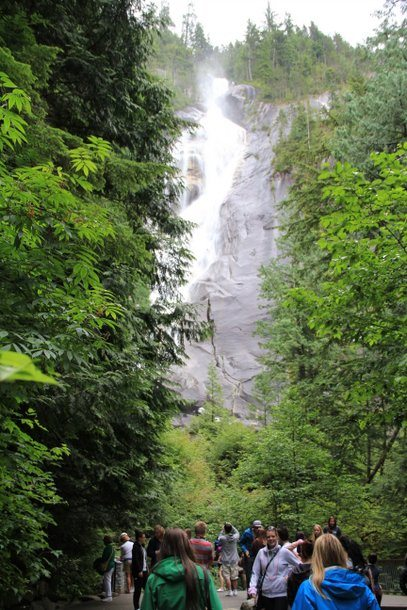 Three Easy Day Trips from Vancouver: Shannon Falls, Squamish