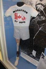 kid-friendly vancouver Terry Fox's Prosthetic Leg in Gallery