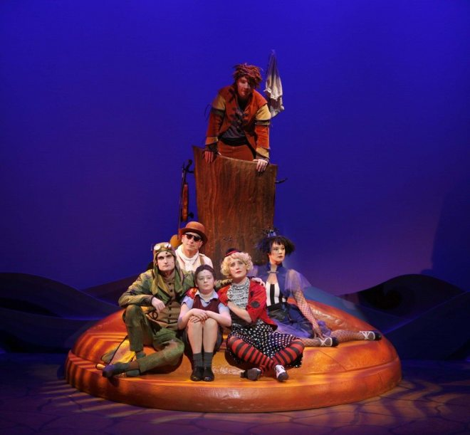 The company of James and the Giant Peach (2015). Photo by Tim Matheson