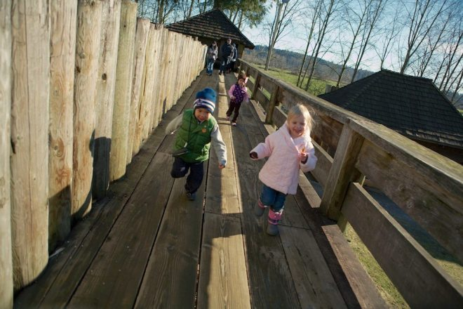 Three Easy Day Trips from Vancouver: Fort Langley / Copyright Parks Canada