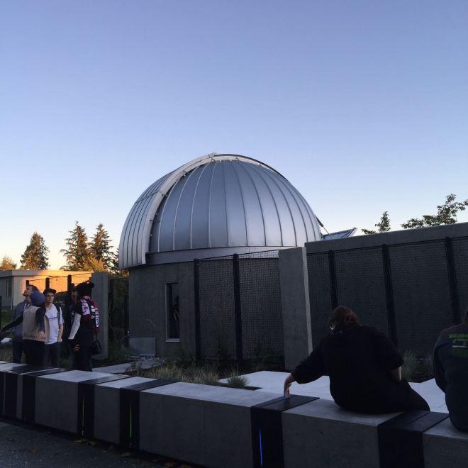 Vancouver stargazing: SFU Trottier Observatory