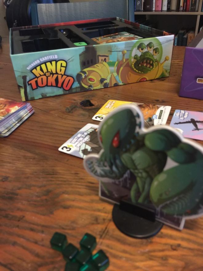 Vancouver Board Games: Where to Play and Buy - King of Tokyo