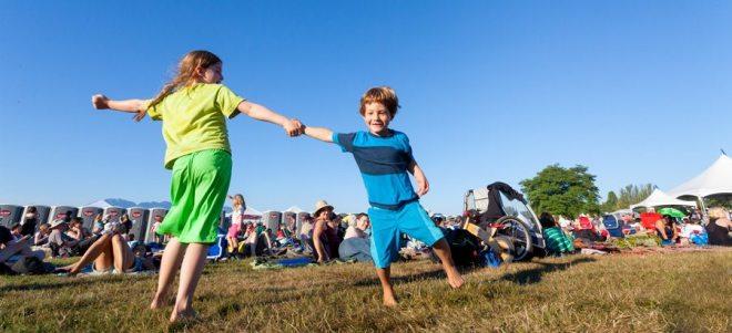 Vancouver folk festival kids