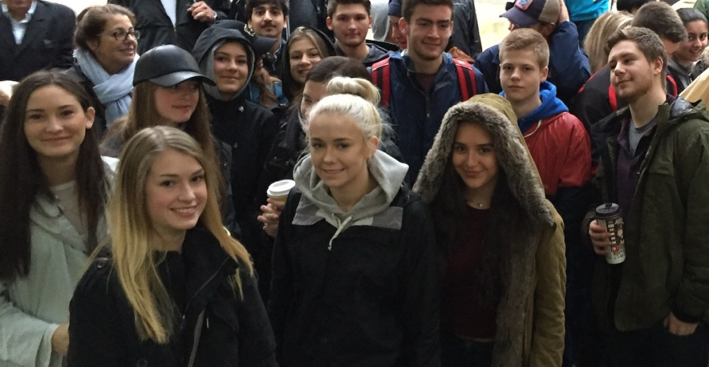 highschool students field trips