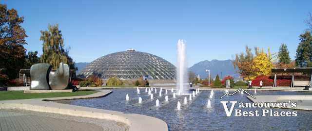 Bloedel Conservatory and Fountain