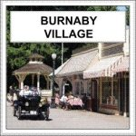 Burnaby Village historical site in Metro Vancouver