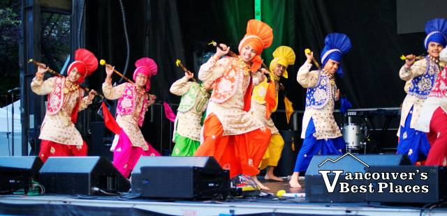 City of Bhangra Dance Performance