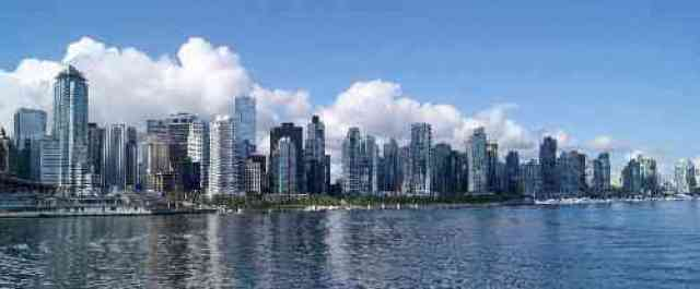 Coal Harbour from Harbour Cruises