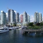 Coal Harbour from a Harbour Cruise boat