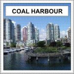 Coal Harbour at Vancouver's waterfront