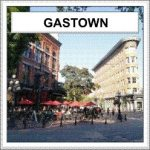 Gastown - the historic quarter of Vancouver