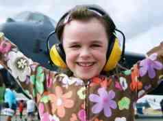 Girl at Abbotsford Air Show