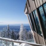 Observatory Restaurant at the top of Grouse