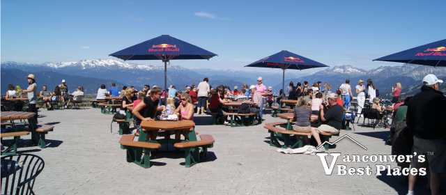 Whistler Peak to Peak Patio