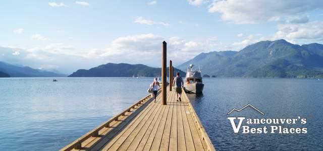 The Dock at Harrison Lake