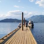 Dock at Harrison Hot Springs
