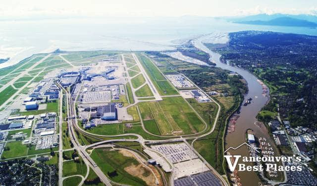 YVR Airport View from the Air
