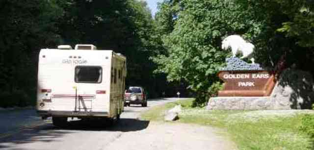 Camping at Golden Ears Park