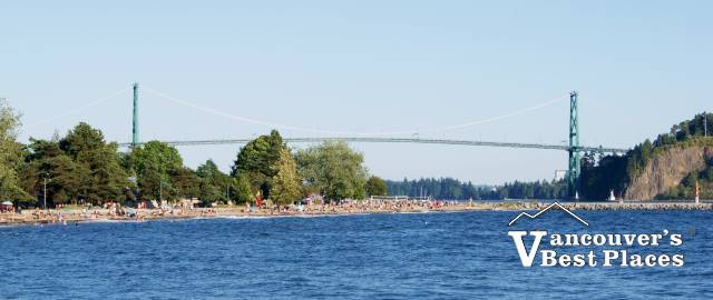 Lions Gate Bridge from West Vancouver