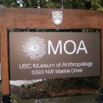 Museum of Anthropology Entrance Sign