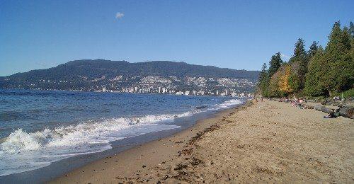 Stanley Park's Third Beach