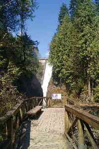 Lookout at Capilano Park