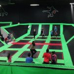 Dodgeball at the Langley Extreme Air Park