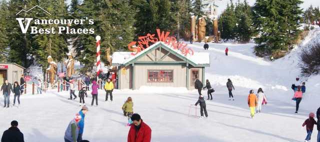 Grouse Mountain Skating Rink