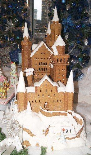 Hyatt Gingerbread Castle
