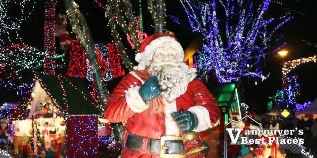 Santa and Bright Nights Decorations