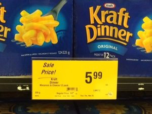 Kraft Macaroni on Sale for $5.99