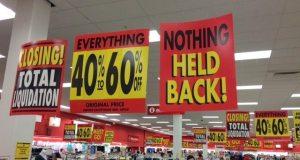Target Sale Signs