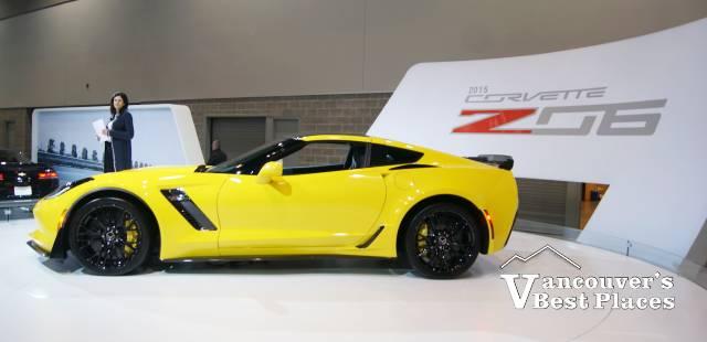 Lexus Car Display at Auto Show