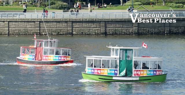 Aquabus Ferry Boats in False Creek