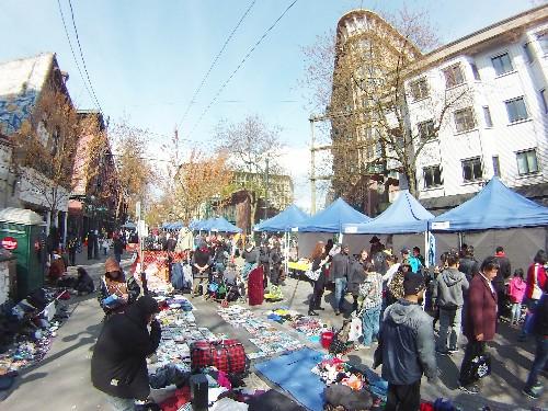 Vancouver DTES Street Market