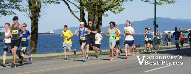Sun Run along Beach Drive