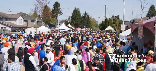 Surrey Vaisakhi Crowds