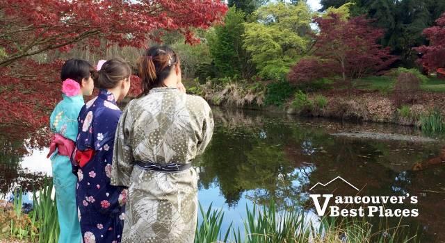 Japanese Girls at VanDusen Japan Fair
