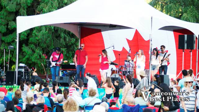 Canada Day Concert at John Lawson