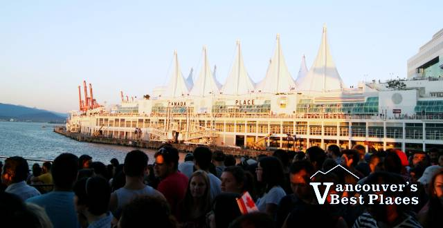Canada Day at Canada Place