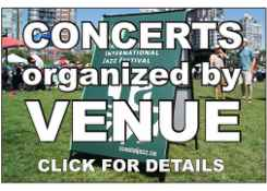 Jazz Concerts by Venues