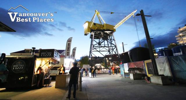 Shipyards at Night