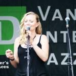 Singer at TD Jazz Festival