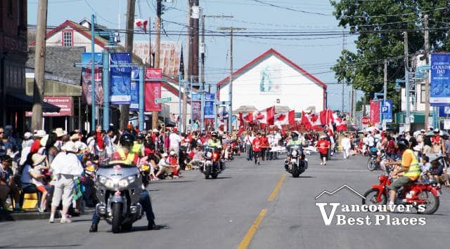 Steveston Village Canada Day Parade