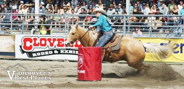 Women's Rodeo Barrel Racing